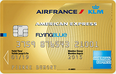 Carte American Express Air France Gold