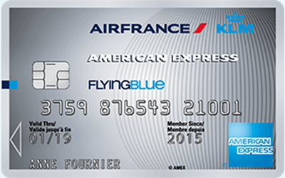 Carte American Express Air France Silver