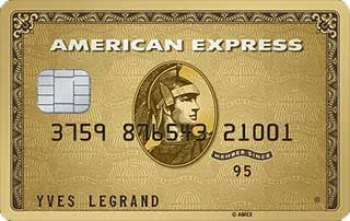 Carte Gold American Express