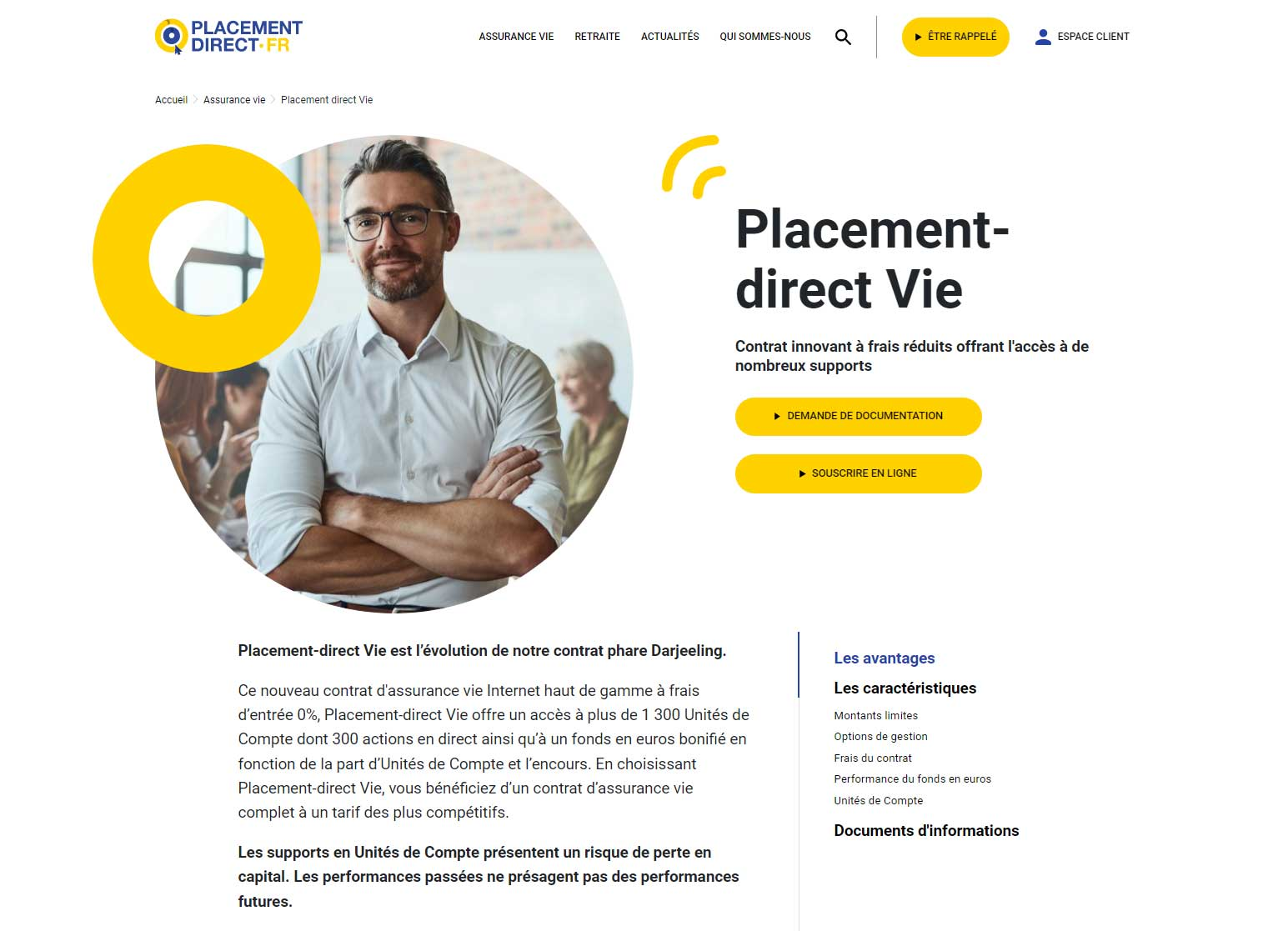 Assurance vie Darjeeling par Placement-direct.fr