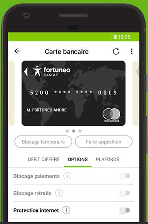 Application Fortuneo Banque