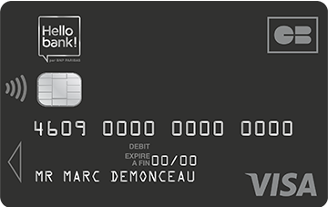 Carte Visa Prime Hello Bank
